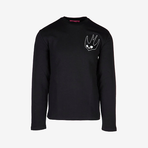 MCQ Swallow Sweatshirt - Black