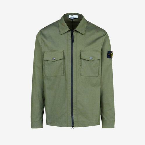 Stone Island Pocket Overshirt - Olive Green