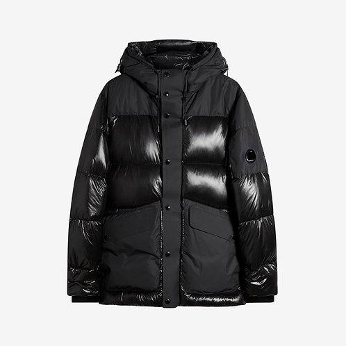 C.P. Company DD Shell Padded Puffer Jacket - Black