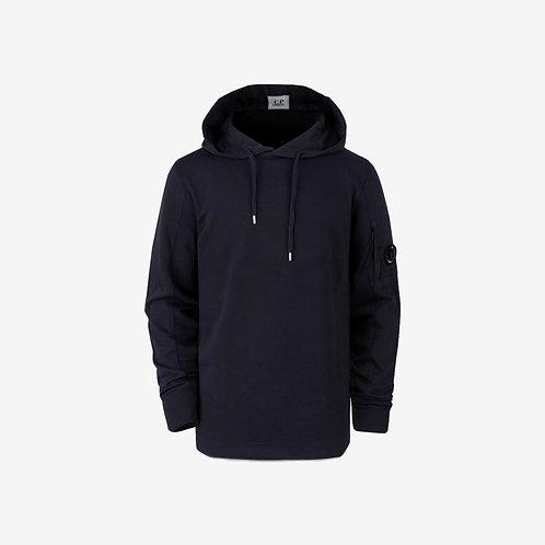 C.P. Company Light Fleece Hooded Lens Sweatshirt - Navy