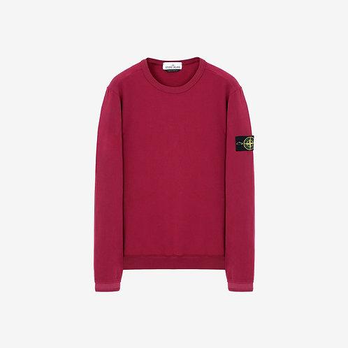 Stone Island Soft Touch Crewneck Sweatshirt - Cherry Red