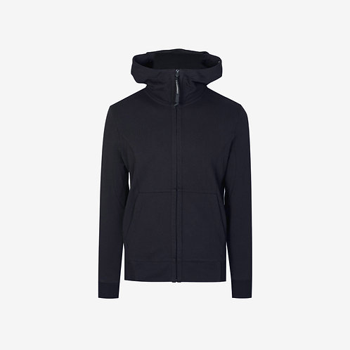 C.P. Company Goggle Hooded Jacket - Navy