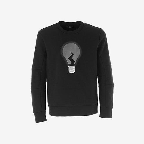 Fendi Lightbulb Sweatshirt Black Front