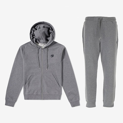 MCQ Swallow Classic Tracksuit - Grey