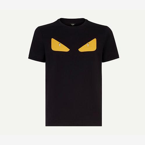 Fendi Bag Bugs Eyes T-shirt Black