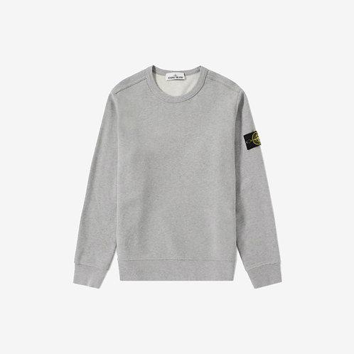 Stone Island Crewneck Sweatshirt - Light Grey