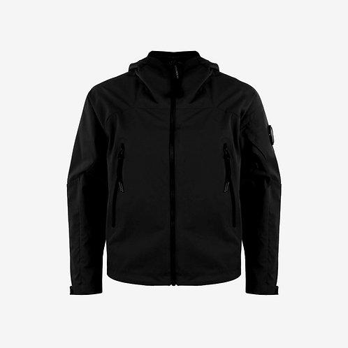 C.P. Company Kids Soft Shell Jacket with Goggle - Black