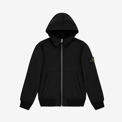 Stone Island Junior Light Soft Shell-R Jacket - Black