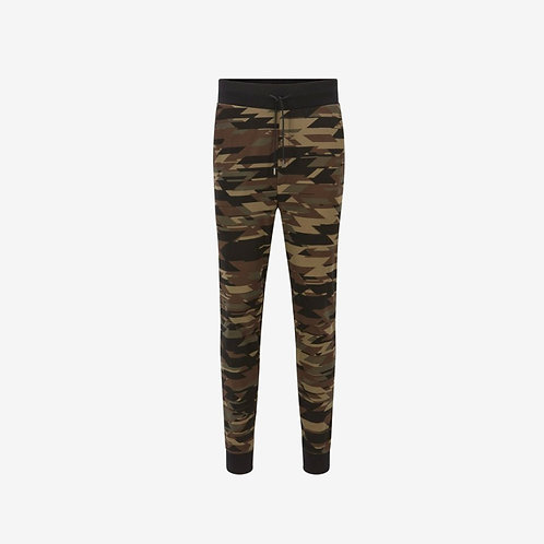 Hugo Boss Dilitary Joggers Camouflage Front