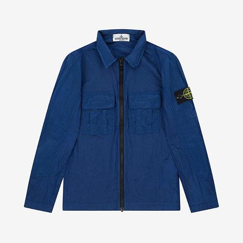 Stone Island Junior Nylon Metal Overshirt - Periwinkle Blue