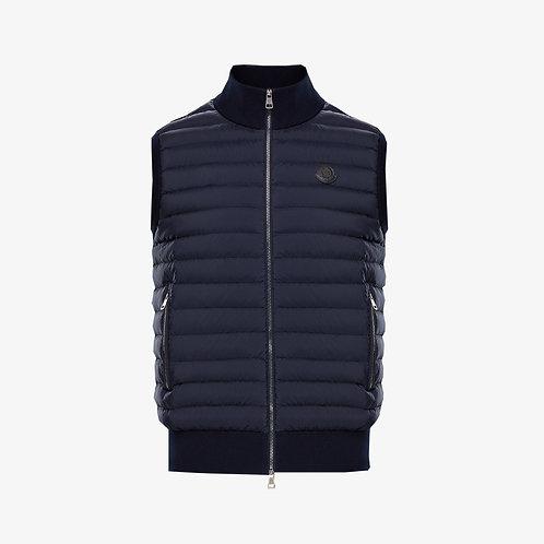 Moncler Waistcoat Gilet - Dark Blue