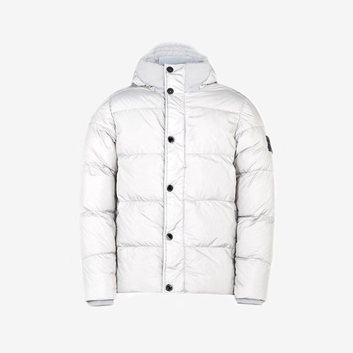 Stone Island Junior Puffer Jacket-Light Grey
