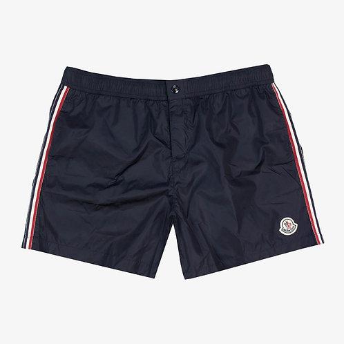 Moncler Button Pocket Swim Shorts - Navy