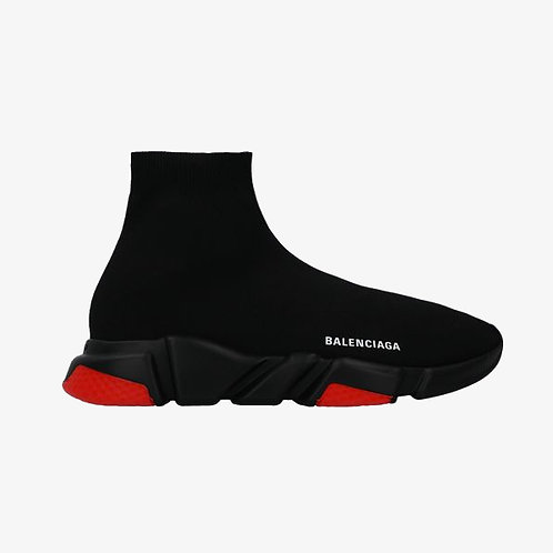 Balenciaga Speed Sneakers - Black and Red
