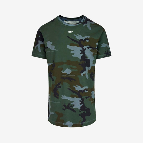 Off-White Incompiuto Arrows T-Shirt Camouflage