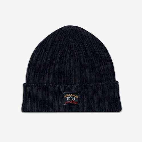 Paul & Shark Wool Hat - Navy