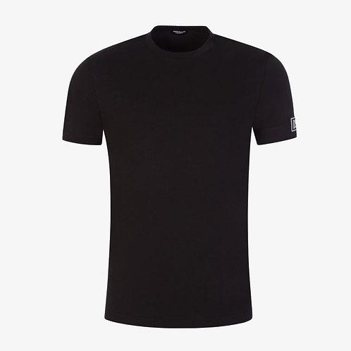 Dsquared2 Arm Patch T-Shirt - Black