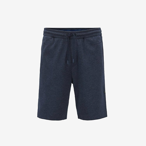 Boss Green Headlo Jogging Shorts with Embroidery - Blue/Grey