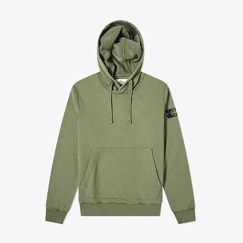 Stone Island Pullover Sweatshirt - Green