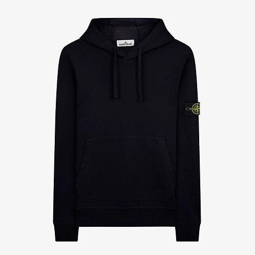 Stone Island Hooded Pullover Sweatshirt - Navy