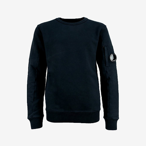 C.P. Company Kids Goggle Sweatshirt - Total Ecplise Navy