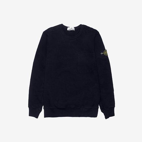 Stone Island Pocket Sweatshirt - Navy