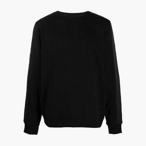 Fendi FF Motif Strip Sweatshirt - Black
