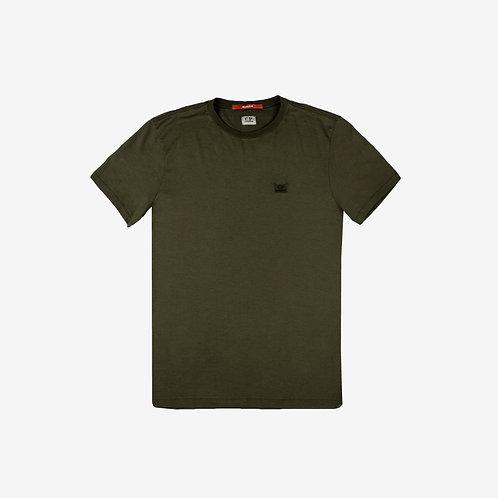 C.P. Company Re-Colour Logo T-Shirt - Olive