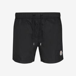 Moncler Zip Pocket Swim Shorts - Black