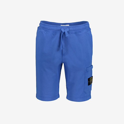 Stone Island Fleece Shorts - Periwinkle Blue