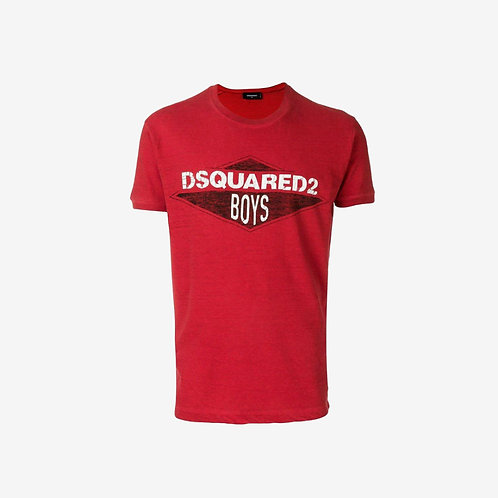 Dsquared2 'Dsquared2 Boys' T-shirt Red New Men