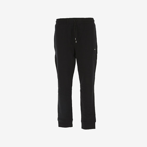 MCQ Swallow Classic Sweatpants with White Logo- Black