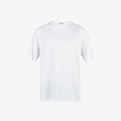 Balenciaga Over-Sized Square Sleeve T-shirt White Front