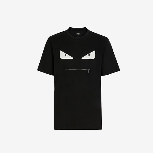 Fendi Bag Bugs T-shirt - Black and White