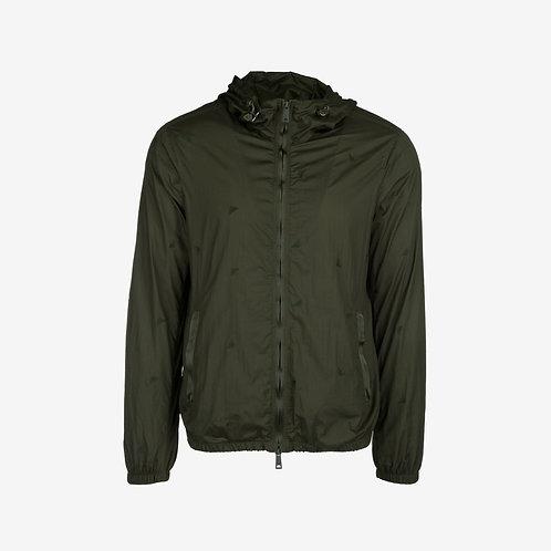 Emporio Armani Embroidered Logo Jacket- Green