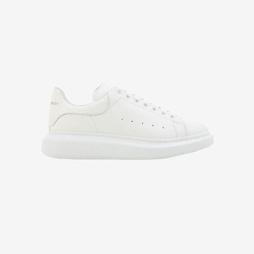 Alexander McQueen Oversized Leather Sneaker White Men