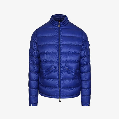 Moncler 'Agay' Padded Down Jacket - Blue