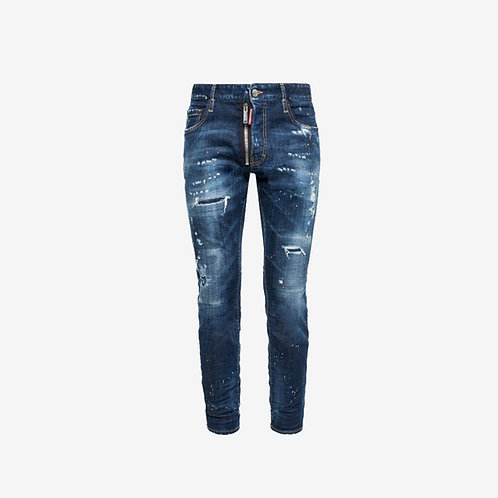 Dsquared2 'City Biker Jean' - Blue