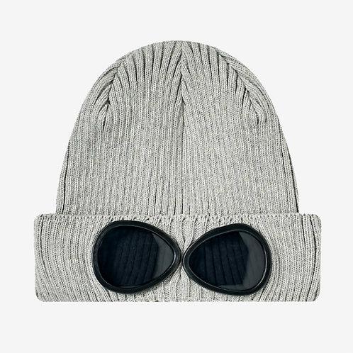 CP Kids Goggle Beanie Hat - Grey