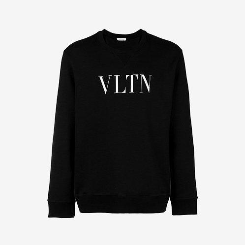 Valentino VLTN Crewneck Sweatshirt - Black