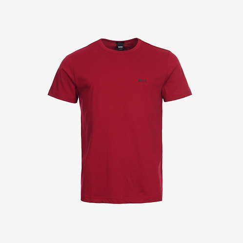 Boss Green T-shirt with Black Details - Tee - Red