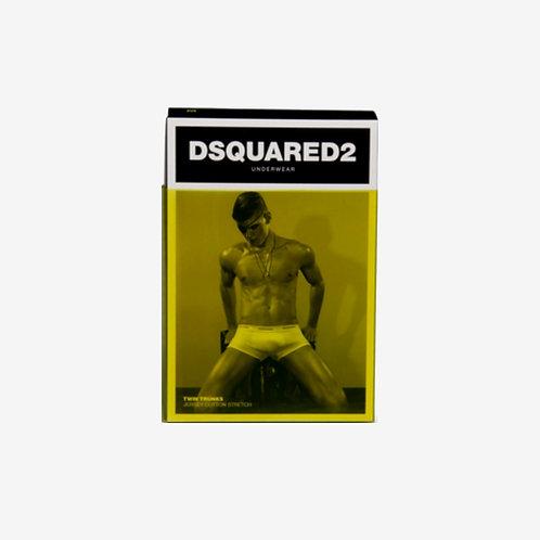 Dsquared2 Cotton Stretch Underwear Trunks Box