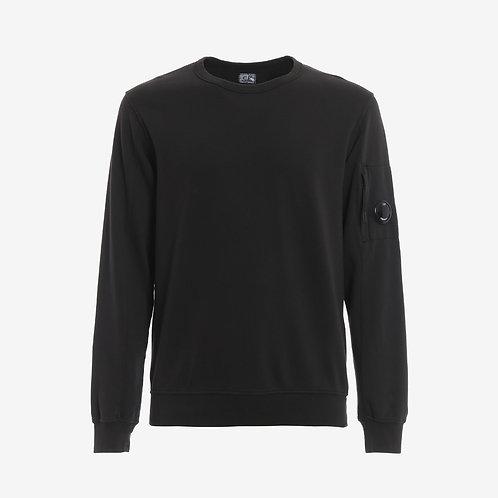 C.P. Company Light Fleece Lens Sweatshirt - Black