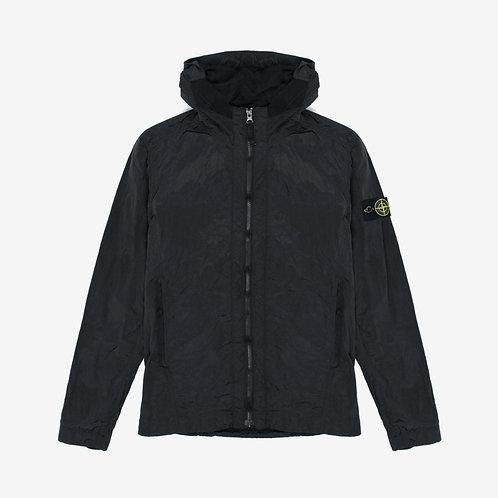 Stone Island Junior Nylon Metal Hooded Jacket - Black