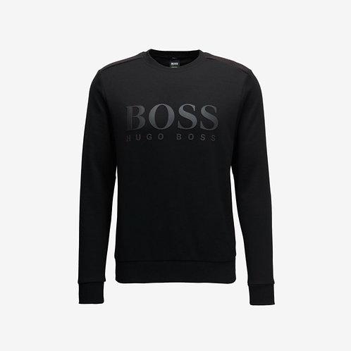 Boss Green Salbo Sweatshirt Black Mens Fashion