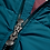 Thumbnail: Pyrenex Authentic Mat Winter Jacket with Fur - Teal/Blue