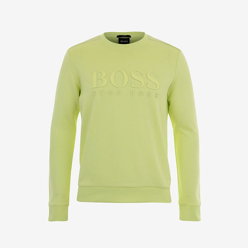 Boss Green Salbo Sweatshirt- Light/Pastel Green