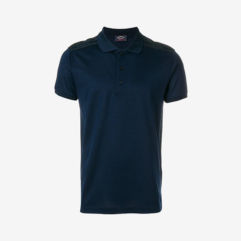 Paul & Shark Mercerized Polo Navy Men