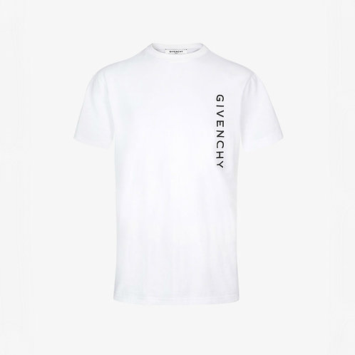 Givenchy Vertical Logo T-Shirt - White
