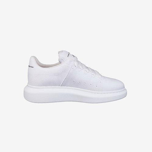 Alexander McQueen Oversized Knit Sneaker White Men